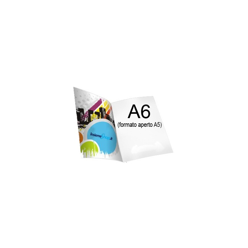 Depliant A6 - 1 Piega