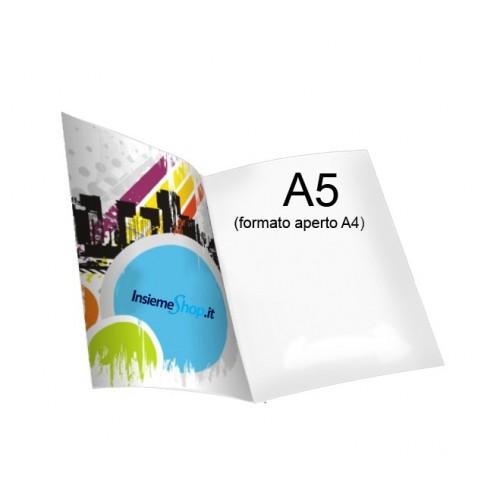 Depliant A5 - 1 Piega