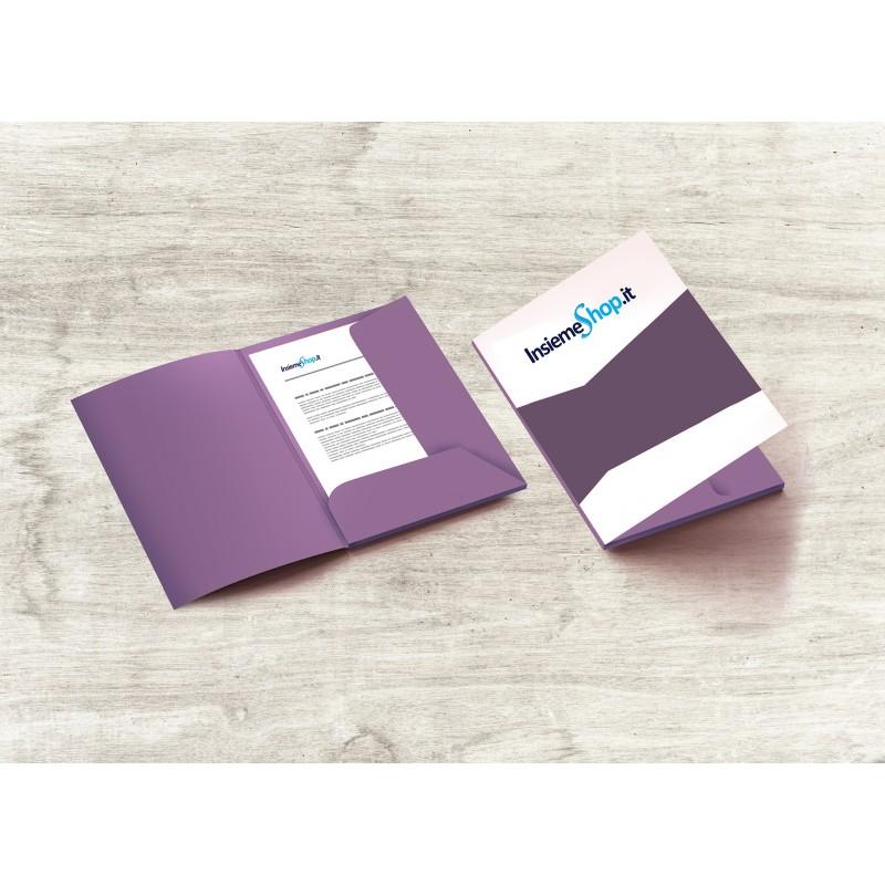 Cartelline con o senza costola stampa fronte/retro
